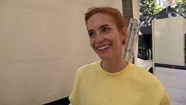 Hana Vagnerová má díky natáčení filmu Matky nevšední zážitek.