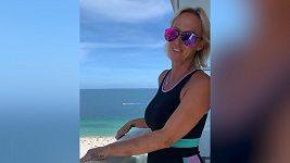 Zuzana Belohorcova se loučí s floridským domovem.