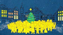 Animovaný klip skupiny Nebe k písni Poslední okno v kalendáři