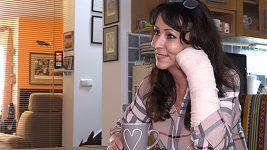 Heidi Janků o ruce a zranění