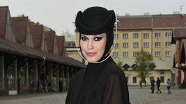 Vignerová opět v roli modelky.