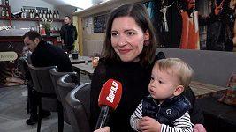 Romana Goščíková o mateřské dovolené