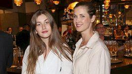 Bernášková s dcerou