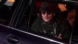 Johnny Depp dorazil do Karlových Varů