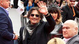 Johnny Depp uvádí film Hrnec zlaťáků