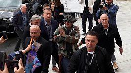 Příjezd Johnny Depp
