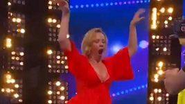 Diana Mórová tančila.