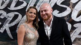 Šárka Vaňková s novým partnerem