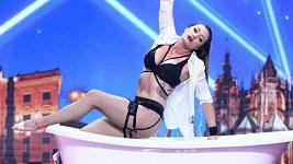 Talent - akrobatka v prádélku