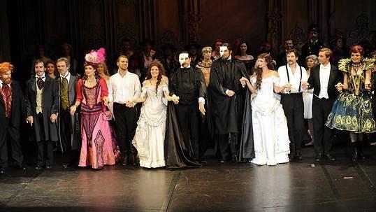 Živě: Zkouška muzikálu Fantom opery