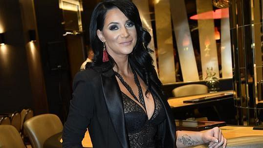 křest Playboy, Andrea Pomeje 1
